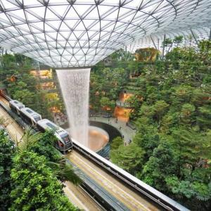 '19 シンガポール 今年の注目スポット・ジュエル。圧巻のフォレストバレーがスゴイ!