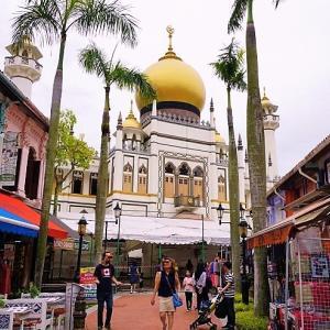 '19 シンガポール 空いた時間を利用してアラブ・ストリート付近を散策。意外に・・・