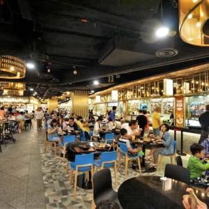'19 シンガポール マリーナベイサンズをちょっとだけ見学。フードコートの充実度はスゴイかも!