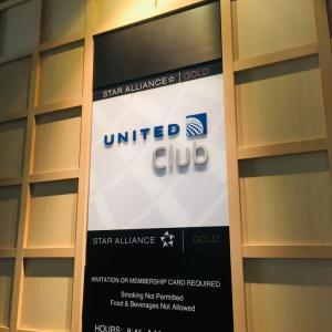成田空港 ユナイテッド航空ラウンジ United Club/ ANAラウンジ 訪問記