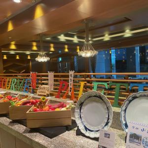 横浜ベイシェラトンホテル&タワーズ宿泊記 コンパスでの朝食ビュッフェ&ジムのコロナ対策/横浜散歩