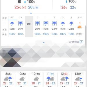 2020.7.6(Mon) 雨降りアジング。雨音とドラグ音の交奏曲♪(*'ω' *)✩.*˚