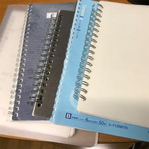 使いかけのノート 処分するためにモーニングノートを書いてみる