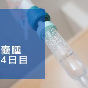 卵巣嚢腫入院4日目 ~術後1日目~