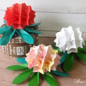 【折り紙】しゃくなげ バラ