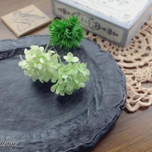 【紙のお花】試作と撮影小物づくり