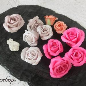 【紙のお花】新しいバラと紙のお花コレクション