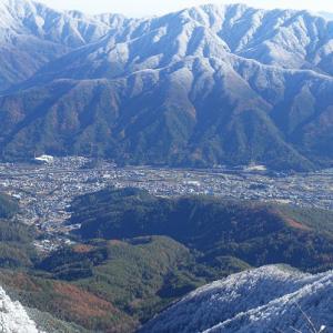 清八山~三ツ峠山 2019年11月