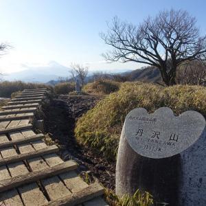 丹沢山~蛭ヶ岳~檜洞丸① 2020年01月
