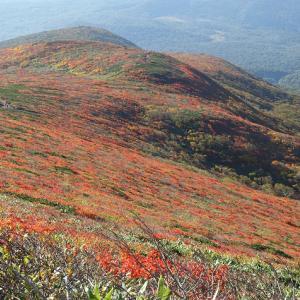 栗駒山 2021年10月