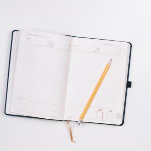 年末恒例、2018年の抱負を書いた手帳を見直す