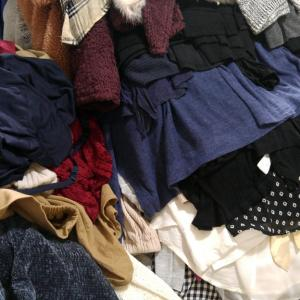 今日手放したもの(断捨離強化月間)1月13日 洋服のコンマリした!
