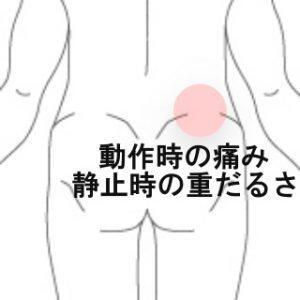 ポイントで痛い腰 室蘭登別すのさき鍼灸整骨院 症例報告