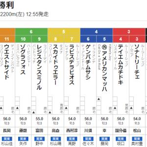 【一口馬主】ソナトリーチェちゃん、中京の鬼・松山弘平を背に3枠3番より出陣。