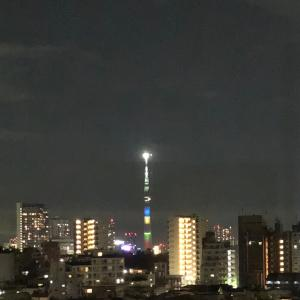 東京2020開会式をTVで見ていました