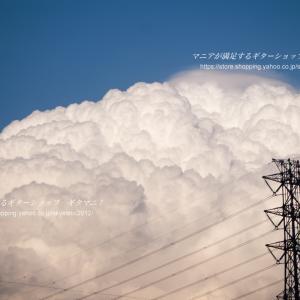 これまで撮りためた写真-その177【9年前の今日(2011年2月24日)】(震災前の積乱雲)