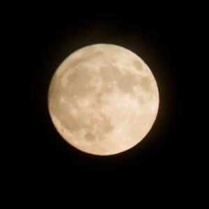 これまで撮りためた写真-その228【3年前の今日(2018年9月24日)】(満月)
