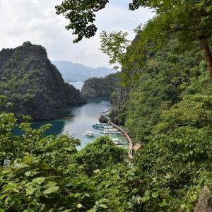 2019年夏休み フィリピン旅行・ブスアンガ・コロン島旅行(4日目-18)カヤンガン湖に到着