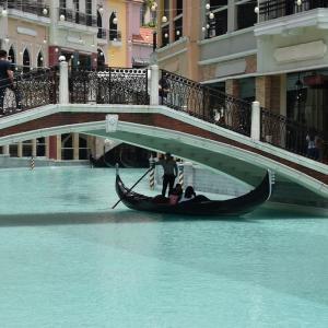 2019年夏休み フィリピン旅行・マニラ旅行(8日目-6)ベニス・グランド・キャナル・モール:Venice Grand Canal Mall #5