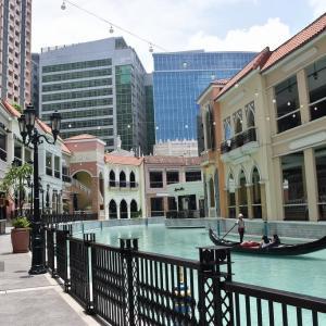 2019年夏休み フィリピン旅行・マニラ旅行(8日目-7)ベニス・グランド・キャナル・モール:Venice Grand Canal Mall #6