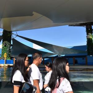2019、2020年末年始 フィリピン・セブ旅行(2日目-13)Cebu Ocean Park:Fish Spa