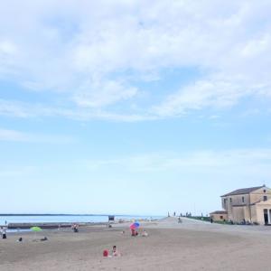 【ヴィジュアル散歩】いつも行く海まで。
