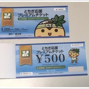 栃木県応援プレミアムチケットを買ってみました