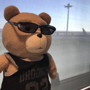 テッド:オレ、大阪に行って来た!!