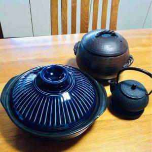 土鍋を新調しました