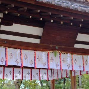 敷地神社にもお参りしました