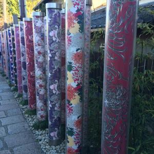 嵐山駅前です