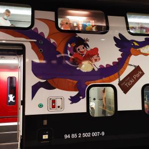 子供と家族用の車両~スイスの電車