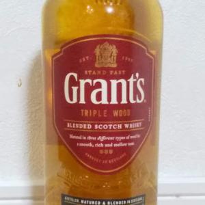 ウィスキーで晩酌を。「グランツ トリプルウッド」(スコッチウィスキー)