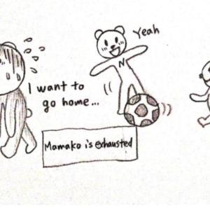 家事しないママコ 漫画で英語#70