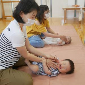 幼稚園に赤ちゃんから行こう❤️ママやお友だちといっぱい遊んで楽しめたね❤️