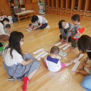 幼稚園赤ちゃん組❤️指先を使って満足度アップ