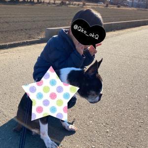 日記■1/13   幼稚園、散歩、ありがとう 4y3m30d(51m30d)