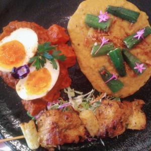 盛り付けがシャレオツなインド料理やさん「ベンガルタイガー」@千葉駅西口
