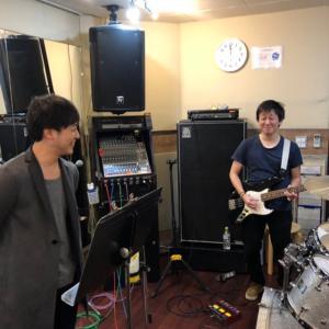 バンドメンバー feat. 生徒さん|堺市から20分☆大阪 西田辺の初心者にやさしいギター教室♪