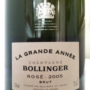 【フランス/シャンパーニュ】シャンパーニュ・ラ・グラン・ダネ・ロゼ(Champagne La Grande Année Rosé)2005:ボランジェ(Bollinger)