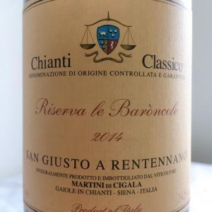【イタリア/トスカーナ】キアンティ・クラッシコ・リゼルヴァ・レ・バロンコーレ(Chianti Classico Riserva Le Baroncole)2014:サン・ジュスト・ア・レンテンナーノ(San Giusto a Rentennano)