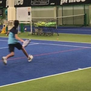 再開します。テニス・スクール【強化練習会】