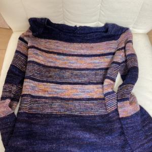セーター完成