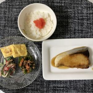 今日の晩御飯*鰤の照り焼き*