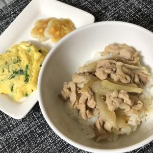 今日の晩御飯*豚丼*
