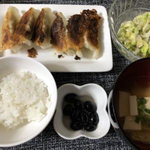今日の晩御飯*餃子*