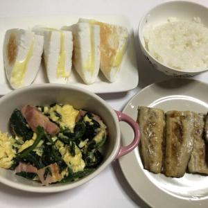 今日の晩御飯*秋刀魚*