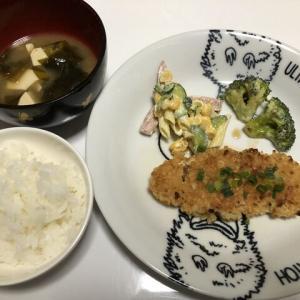 今日の晩御飯*チキン南蛮*