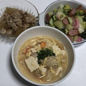 今日の晩御飯*うどん*