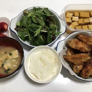 昨日の晩御飯*から揚げ*